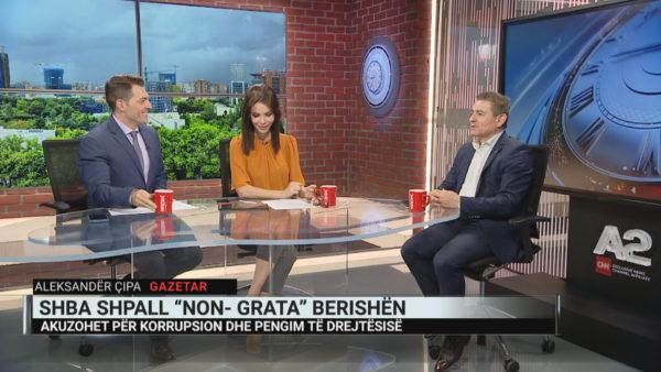 """Sali Berisha """"non grata"""", Çipa: Goditje mbi """"status quo""""-n e korrupsionit në Shqipëri"""