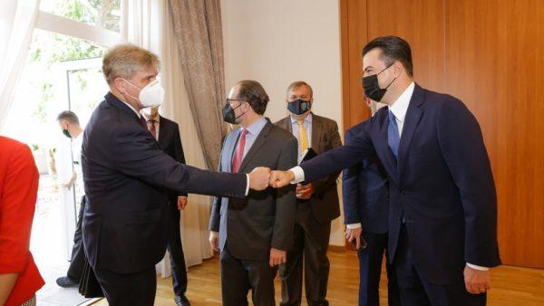 Basha takim me ministrat e Jashtëm të Austrisë, Çekisë dhe Sllovenisë: PD do bëjë gjithçka për integrimin e vendit