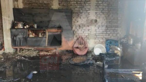 Zjarr në një banesë në Pogradec, zjarrfikësit shpëtojnë një person