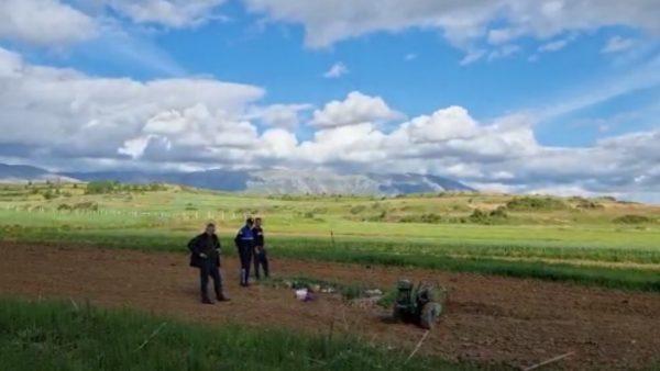 Shpërthen predha në Maliq, plagoset fermeri duke punuar tokën