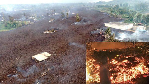 Dhjetëra viktima nga shpërthimi i vullkanit, qindra shtëpi të mbuluara nga hiri dhe lava