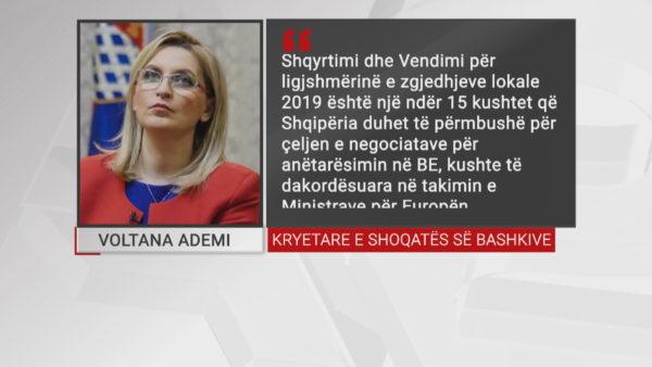 Zgjedhjet vendore në Kushtetuese, Ademi: Konfirmohet qëllimi i kapjes së Shoqatës së Bashkive