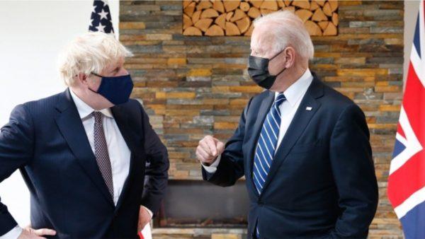 Biden takohet me Johnson, dakordësohen për forcim të partneritetit