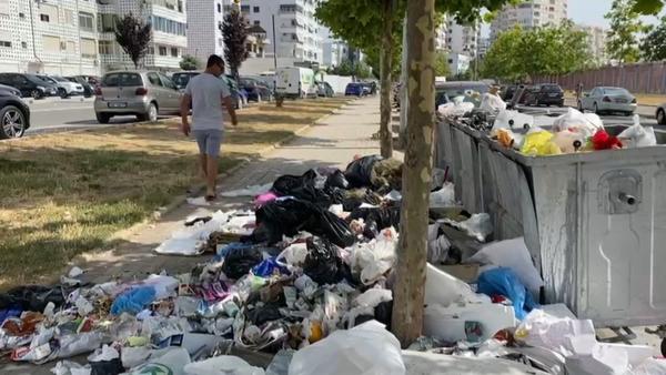 Durrësi në prag të një epidemie mjedisore, grumbuj mbetjesh në qendër dhe periferi