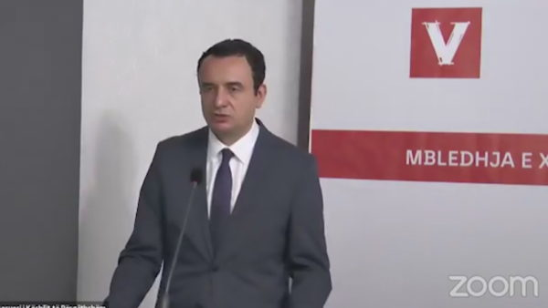 Dialogu me Serbinë, Kurti parashtron qëndrimin për marrëveshjen përfundimtare