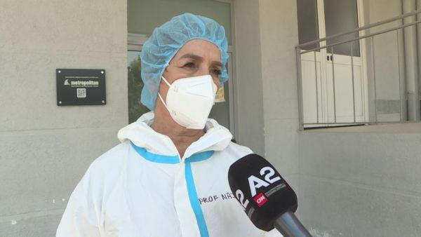 Najada Çomo: Vetëm 14 pacientë me Covid në spital, por s'ka siguri për vijimësinë