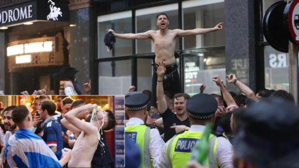 """Dorëzohet policia, skocezët """"pushtojnë"""" Londrën në pritje të ndeshjes së sotme"""