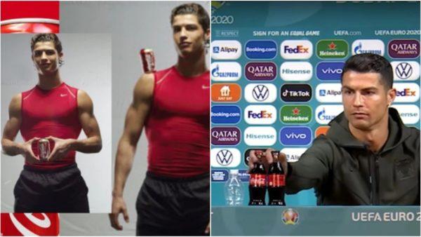 Kur Ronaldo iu bënte reklamë ushqimeve dhe pijeve jo të shëndetshme