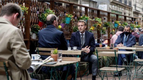 Franca i thotë lamtumirë maskave në mjedise të hapura dhe përshpejton fundin e shtetrrethimit