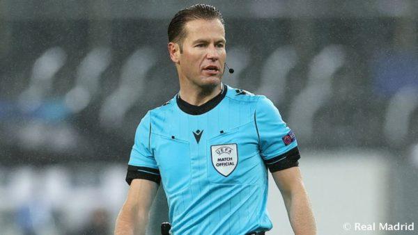 Caktohet arbitri i gjysmëfinales Angli-Danimarkë