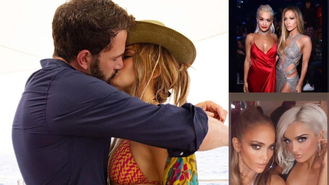 Jennifer Lopez feston ditelindjen ne krahet e Ben Affleck e urojne edhe Rita Ora e Bebe Rexha 1100x620