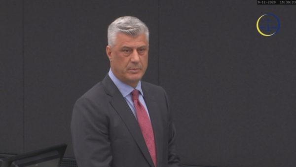 Garanci nga dy shtete të fuqishme, Thaçi kërkon lirimin me kusht nga paraburgimi në Hagë