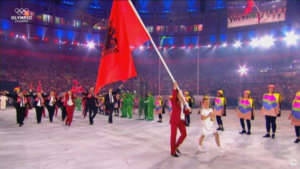 """Ceremonia hapëse e """"Tokyo 2020"""", Shqipëria në vendin e 12 në parakalimin e ekipeve"""