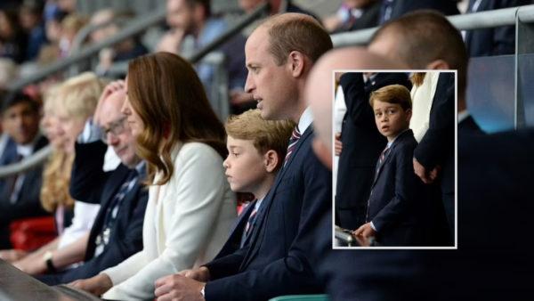 Festa dhe trishtimi i princit të vogël George