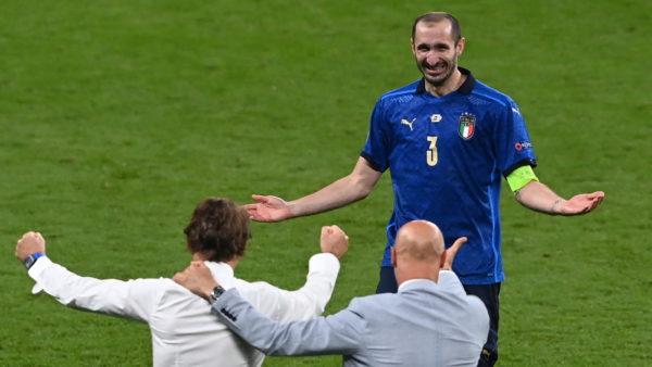 Italia kampion, Chiellini: E merituam sepse dominuam ndeshjen