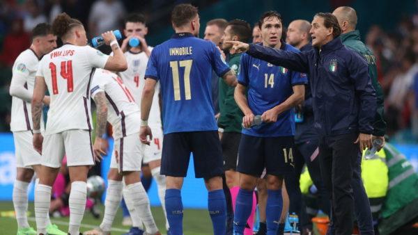 Itali-Angli, 90 minutat përfundojnë në barazim