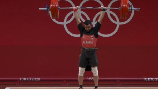 """""""Tokyo 2020"""", Briken Calja mbetet pa medalje për 1 kilogram"""