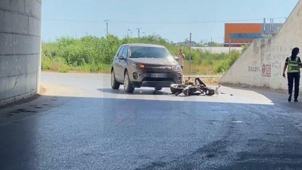 Automjeti godet motorin, një i lënduar në Novoselë