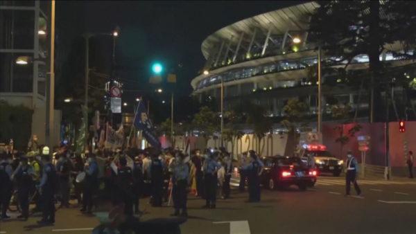 Rreziku nga pandemia, protesta në Tokio përpara ceremonisë zyrtare