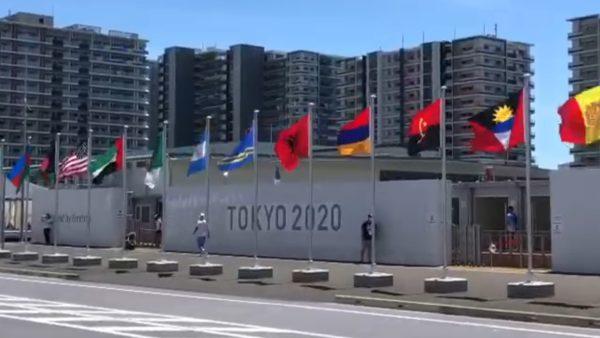 Flamuri shqiptar në Fshatin Olimpik në Tokio, mbërrijnë sportistët e parë