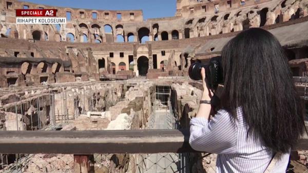 Pas rinovimit, rihapet Koloseumi