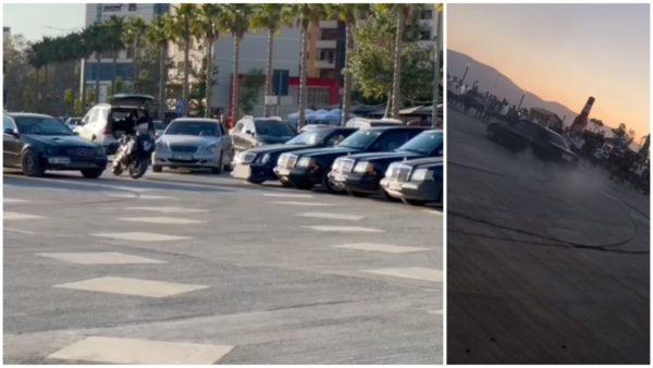 """Benz-at klasikë """"pushtojnë"""" Vlorën, paradë mes Lungomares"""