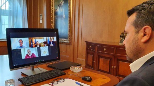 Takim virtual Vucic-Rama-Zaev, kryeministri maqedonas: Lidhemi gjithmonë e më shumë, ky është Ballkani i ri