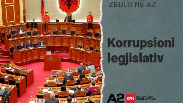 Korrupsioni legjislativ në Shqipëri