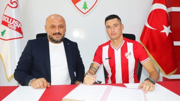 """Shtohet """"kolonia"""" shqiptare në Turqi, Boluspor prezanton Odise Roshin"""