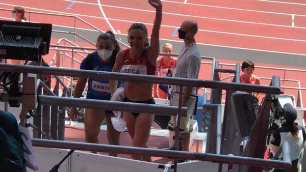 Historike, Luiza Gega në finalen e 3000 m me pengesa
