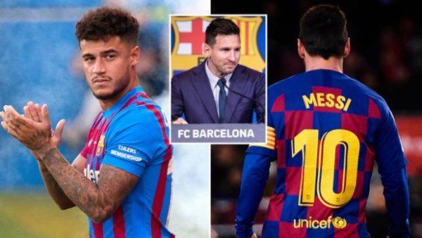 Barça i ofron Coutinhos numrin e Leo Messit