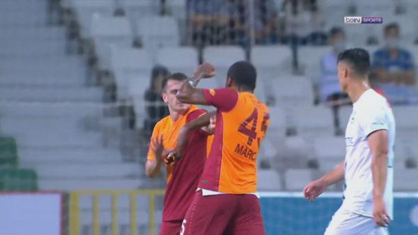 Skena skandaloze në futbollin turk, braziliani godet me kokë dhe grusht shokun e ekipit