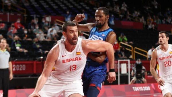 Basketboll, Durant udhëheq Amerikën drejt gjysmëfinaleve, Spanja largohet me kokën lart