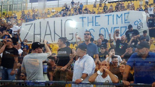 Shitja e Lukakut, tifozët kundër Zhang: Largohu nga Interi