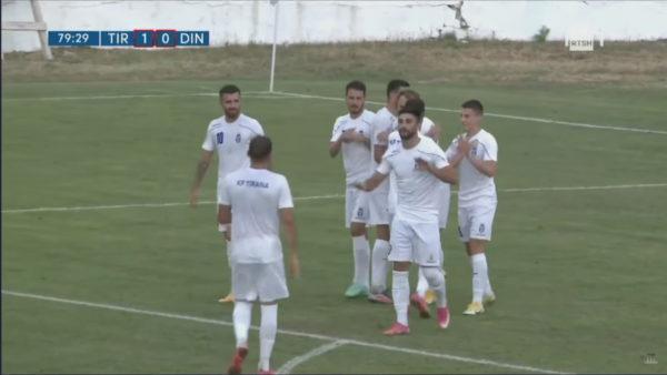 Tirana fiton derbin e parë