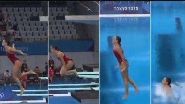 Të debutosh në Olimpiadë me zhytjen për notën 0