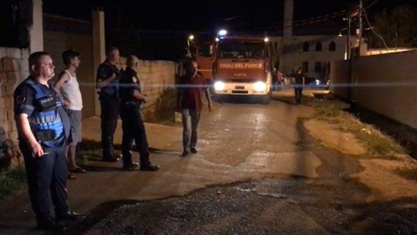 Zjarr i madh në një lagje të Shkodrës, u afrohet banesave