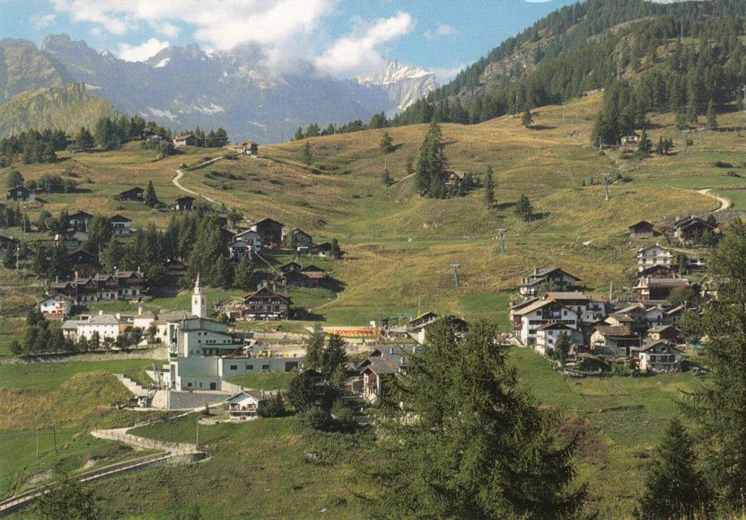 Fshati alpin që nuk përdor makina