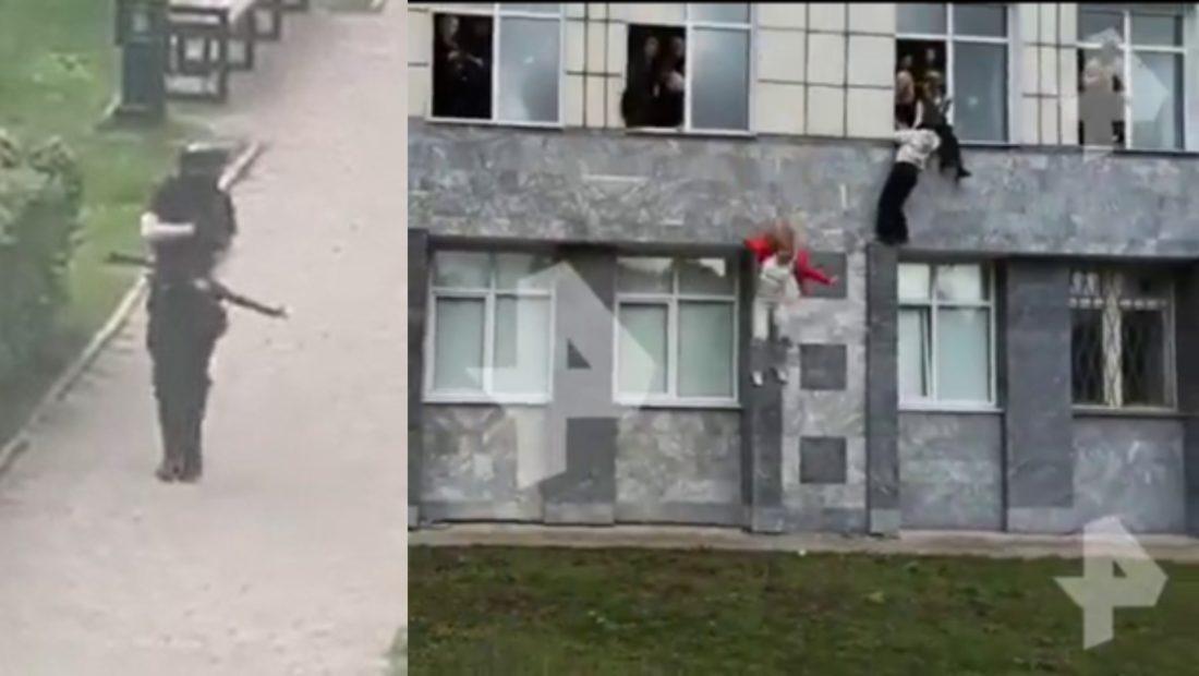 Terror ne Rusi te shtena me arme brenda universitetit njerezit hidhen nga dritaret per te shpetuar 1100x620