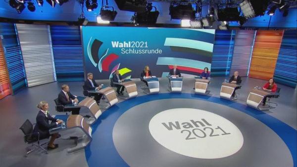 Zgjedhjet në Gjermani, kandidatët për kancelarë mbajtën debatin e fundit televiziv