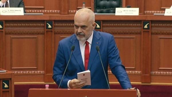 Opozita e thërret në sallën e Kuvendit, Rama: Janë shumë detyra për t'u ndjekur, pasnesër duhet të largohem për shumë ditë