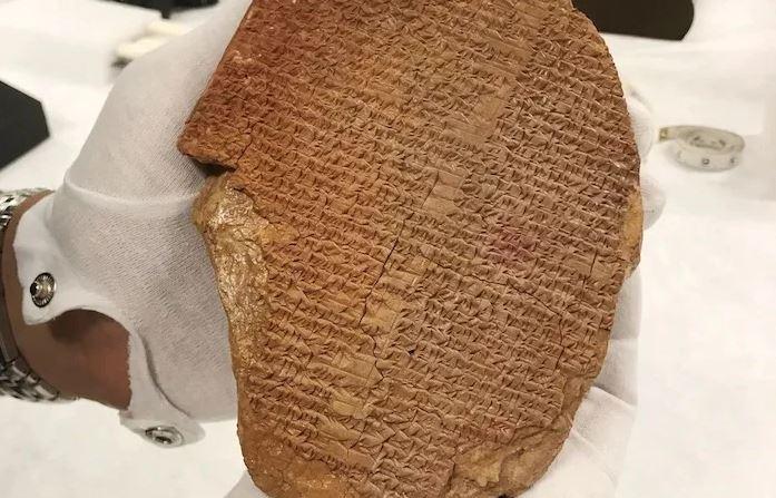 Kthehet në Irak pllaka e vjedhur e Epit të Gilgameshit
