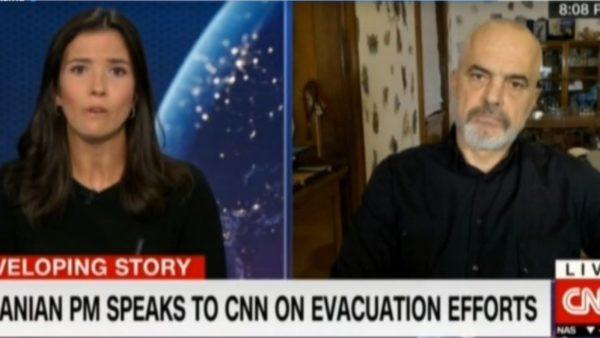 Rama për CNN: Pengesa për evakuimin e afganëve, një lojë brenda Afganistanit