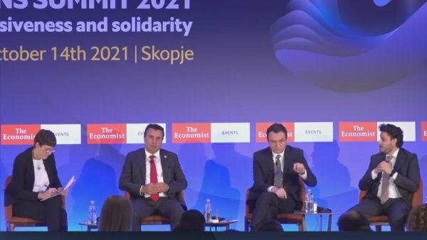 Në Shkup flet për aksionin në veri, Kurti: Krimi dhe korrupsioni është multietnik, e luftojmë
