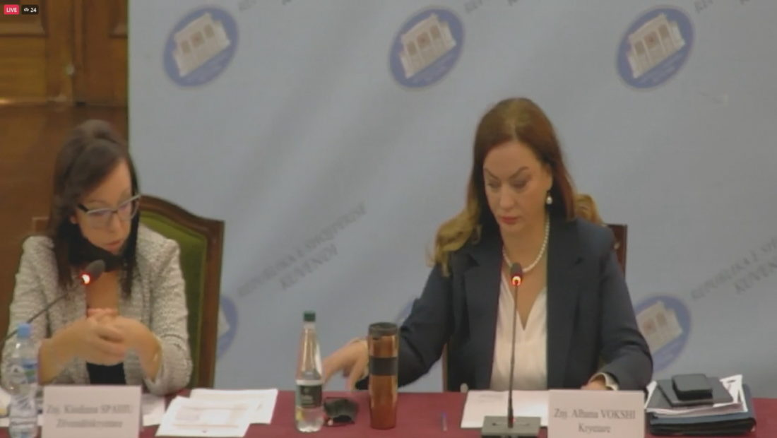 albana vokshi kryetare e komisionit te shendetesise 1100x620