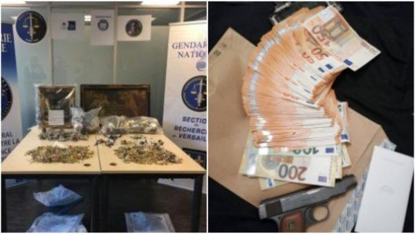 10 shqiptarë në Francë e Belgjikë kryen 400 vjedhje, u sekuestrohen 50 kg bizhuteri ari